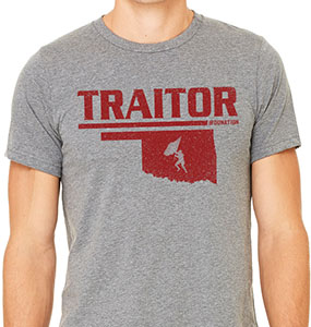 Traitor 1 Color t-Shirt